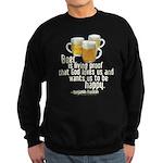 Beer is Proof Franklin Sweatshirt (dark)