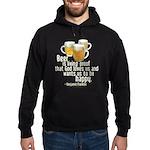 Beer is Proof Franklin Hoodie (dark)