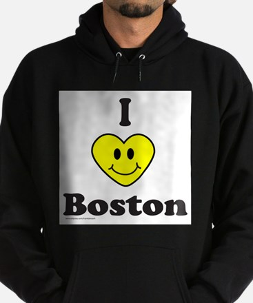 LOVE BOSTON Hoodie (dark)