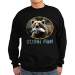 Sushi Fan Bear Sweatshirt (dark)