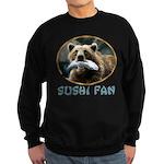 Sushi Fan Bear Sweatshirt (dark)