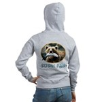 Sushi Fan Bear Women's Zip Hoodie