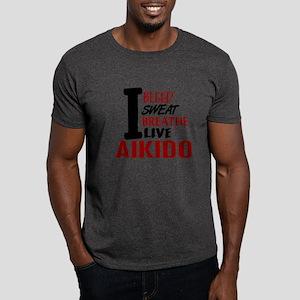 Bleed Sweat Breathe Aikido Dark T-Shirt