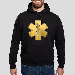 Star of Life(Gold) Hoodie (dark)