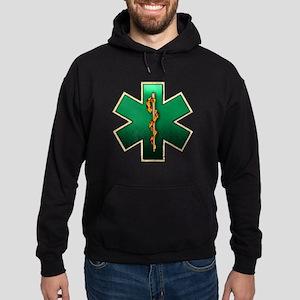 Star of Life(Emerald) Hoodie (dark)