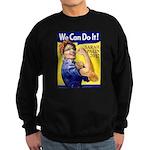 Sarah Palin We Can Do It Sweatshirt (dark)