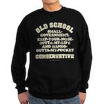 Old School Conservative Sweatshirt (dark)