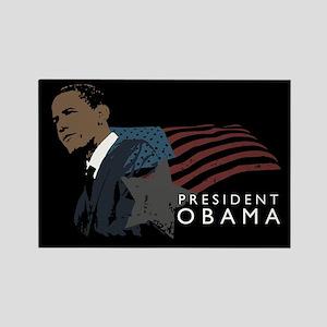 President Obama: Rectangle Magnet