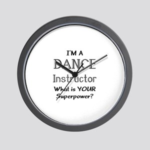 dance instructor Wall Clock