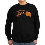 Powered By Cheesy Puffs Sweatshirt (dark)
