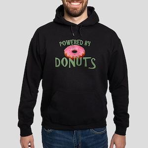 Powered By Donuts Hoodie (dark)