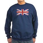 UNION JACK UK BRITISH FLAG Sweatshirt (dark)