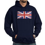 UNION JACK UK BRITISH FLAG Hoodie (dark)