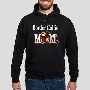 Border Collie Mom Hoodie (dark)