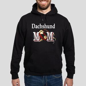 Dachshund Mom Gifts Hoodie (dark)