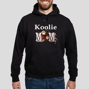 Koolie Dog Mom Hoodie (dark)
