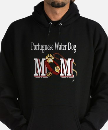 Portuguese Water Dog Mom Hoodie (dark)