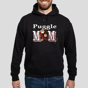 Puggle Mom Hoodie (dark)