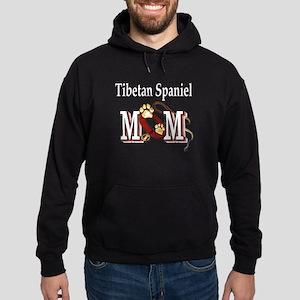 Tibetan Spaniel Mom Hoodie (dark)