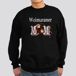 Weimaraner Mom Sweatshirt (dark)