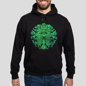 Green Man Gaze Hoodie (dark)