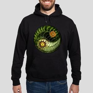 Earth Day Yin Yang Hoodie (dark)