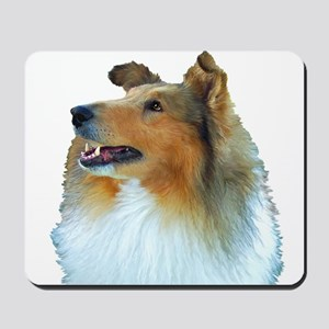 Collie Portrait Mousepad