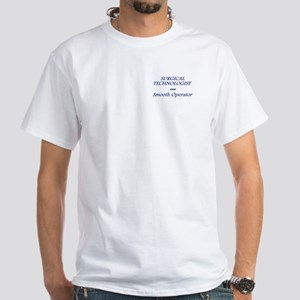 New ST Smooth White T-Shirt