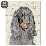 Gordon Setter Puzzle