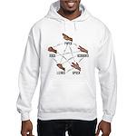 Lizard-Spock Hooded Sweatshirt