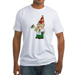 Old Manny the Mason Fitted T-Shirt