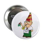 """Old Manny the Mason 2.25"""" Button"""