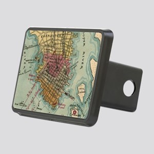 Vintage Charleston SC Civi Rectangular Hitch Cover