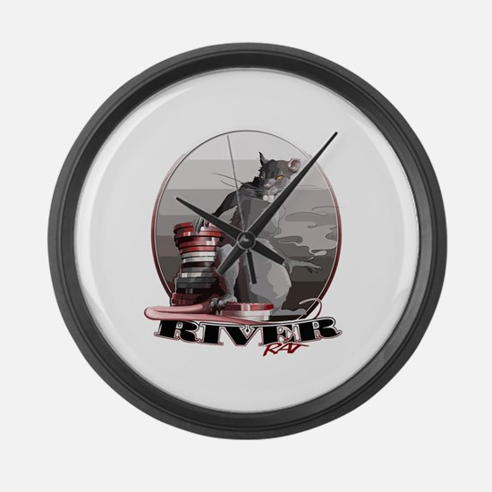 Poker Large Wall Clock