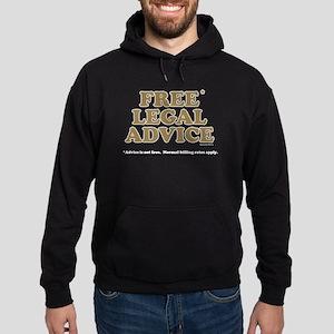 Free Legal Advice (2) Hoodie (dark)