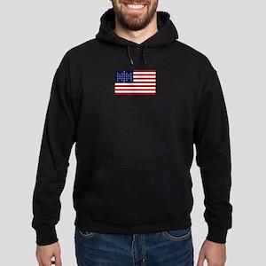The Union Civil War Flag Hoodie (dark)