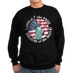 America Free and Brave Sweatshirt (dark)