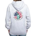 America Free and Brave Women's Zip Hoodie