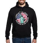 America Free and Brave Hoodie (dark)