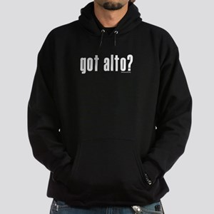 got alto? Hoodie (dark)