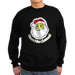 Santa Smiley (1) Sweatshirt (dark)