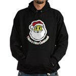 Santa Smiley (1) Hoodie (dark)
