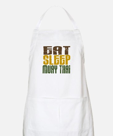 Eat Sleep Muay Thai BBQ Apron