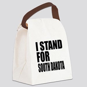 I Stand For South Dakota Canvas Lunch Bag