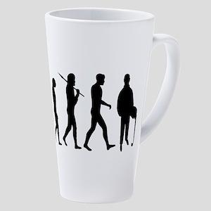 Accountant Evolution 17 Oz Latte Mug