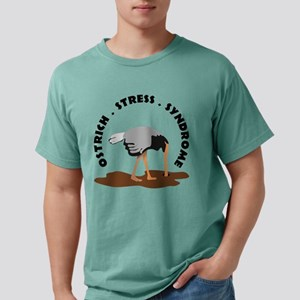 Ostrich Stress Syndrome Mens Comfort T-Shirt