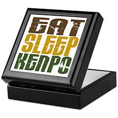 Eat Sleep Kenpo Keepsake Box