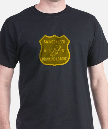 Swing Dancer Drinking League T-Shirt