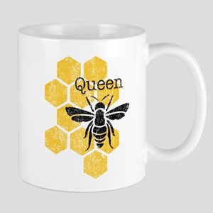 Honeycomb Queen Bee Mugs