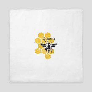 Honeycomb Queen Bee Queen Duvet
